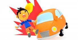 交通事故の基本過失割合|歩行者対四輪車の基本パターン